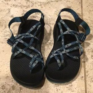 Chaco ZX2 Classic black and teal color